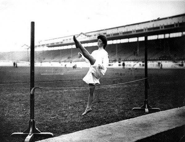 Олимпийские игры в Лондоне 1908 г.  Прыжки в высоту. Женщины .