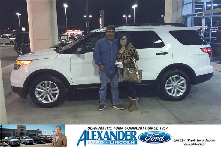 Congratulations To Maria Reyes On Your Ford Explorer Purchase