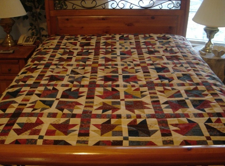 67 Best Images About Quilts Bear Paw On Pinterest