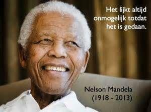 Uitspraken en citaten van Nelson Mandela. Quotes en oneliners van ...