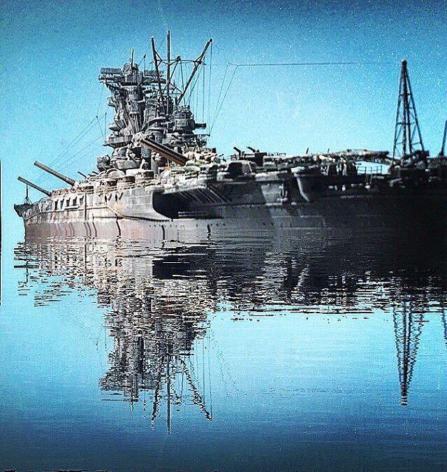 こんばんは!  戦艦大和編。 やっぱり大和は素晴らしい戦艦ですね。 久しぶりに大和アップします( ̄^ ̄)ゞ⚓️ #戦艦#戦艦大和#yamato#battleship #模型 #プラモデル #scalemodel #modeler