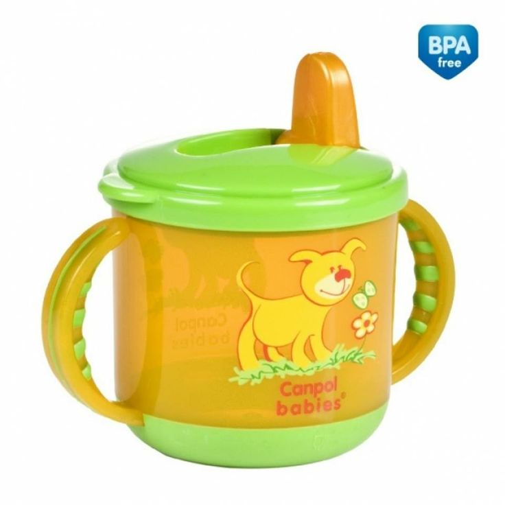 #Flip_top_firm_spout_cup   Brand:#Canpol_Babies  Short description:  Comes with #plastic flip-top spout thanks to which the drink does not leak when your #child tilts the cup. Rubber handles make the cup easier to hold and the rubber bottom makes it more stable. #Hedeya  #Hedeyastores #gifts #toys code:3475  Price:50