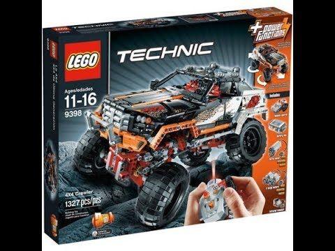Reviewing lego techinic (rock crawler) - YouTube