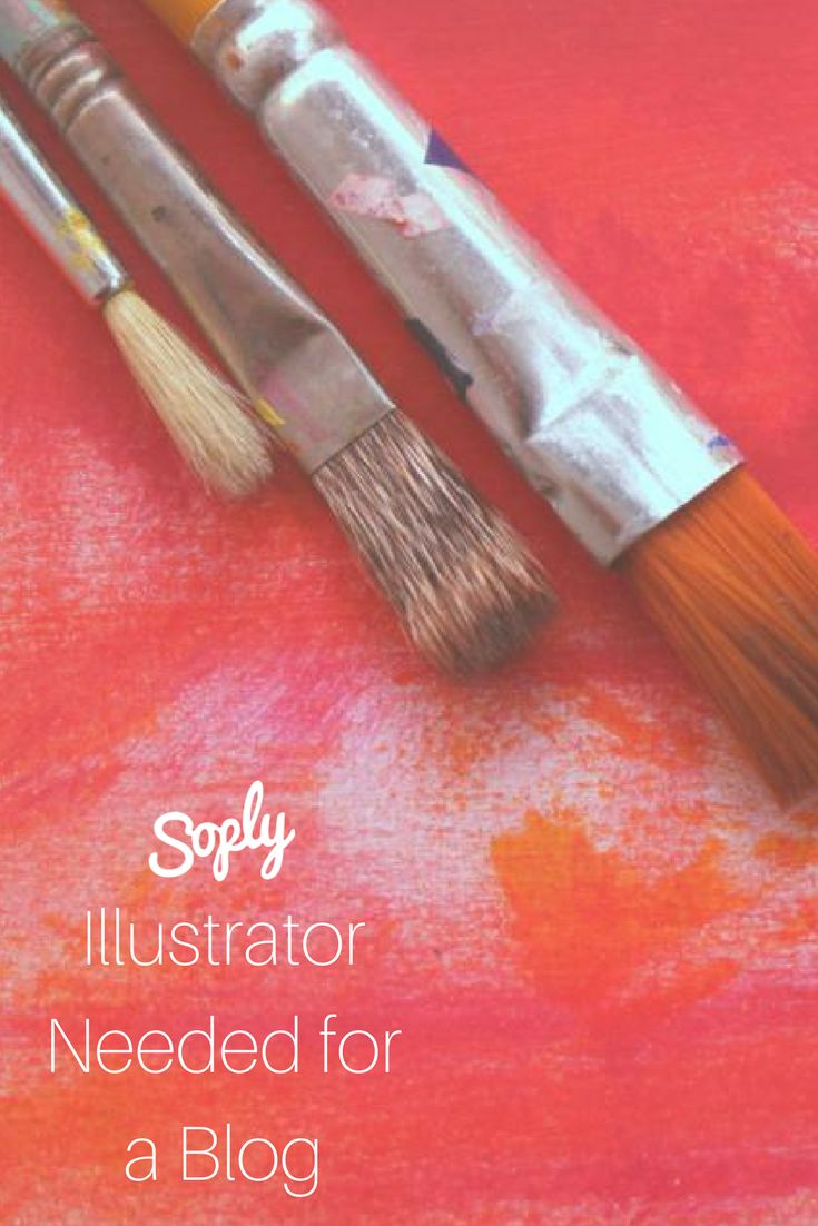 #Illustrator needed for a #lifestyle #blog. The #client would like #illustrations of #pictures and also of the #products on the #site. See the illustration job and apply by clicking the pin!