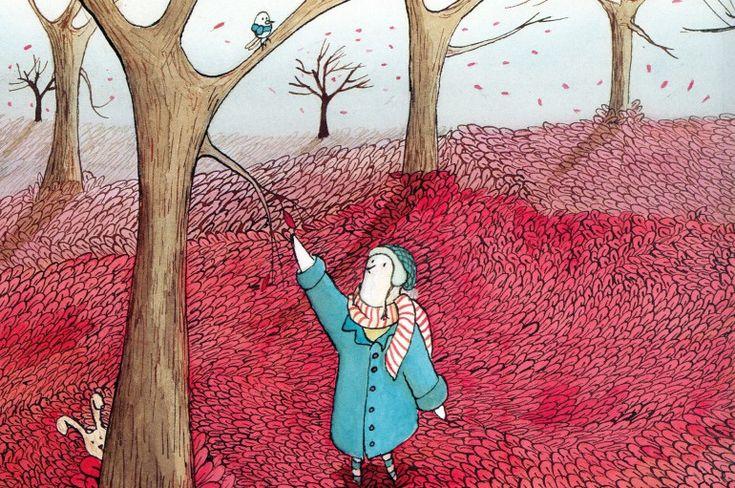 Il domatore di foglie, Pina Irace e Maria Moya, ZooLibri, 2014. L'autunno non comincia perché non arriva il domatore di foglie, fino a quando... Una storia sulle stagioni e la libertà