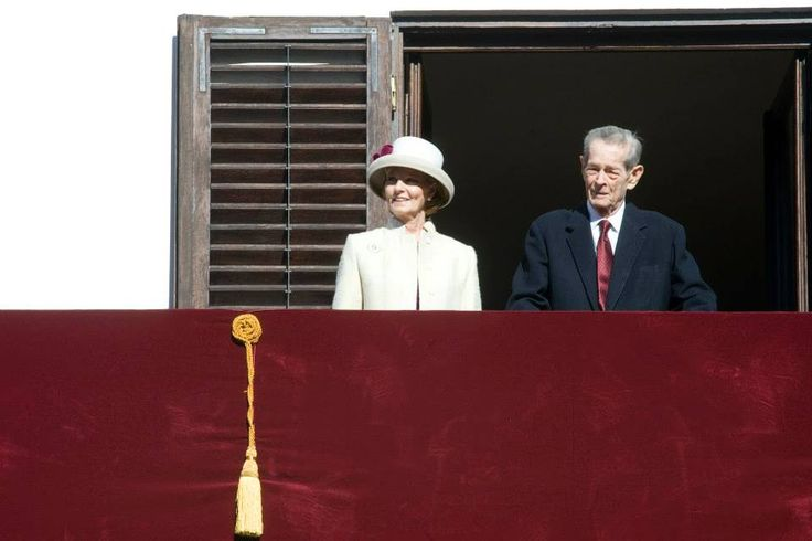 King Michael of Romania and Crown Princess Margarita - Open Day at the Palace (King Michael's 92nd birthday)