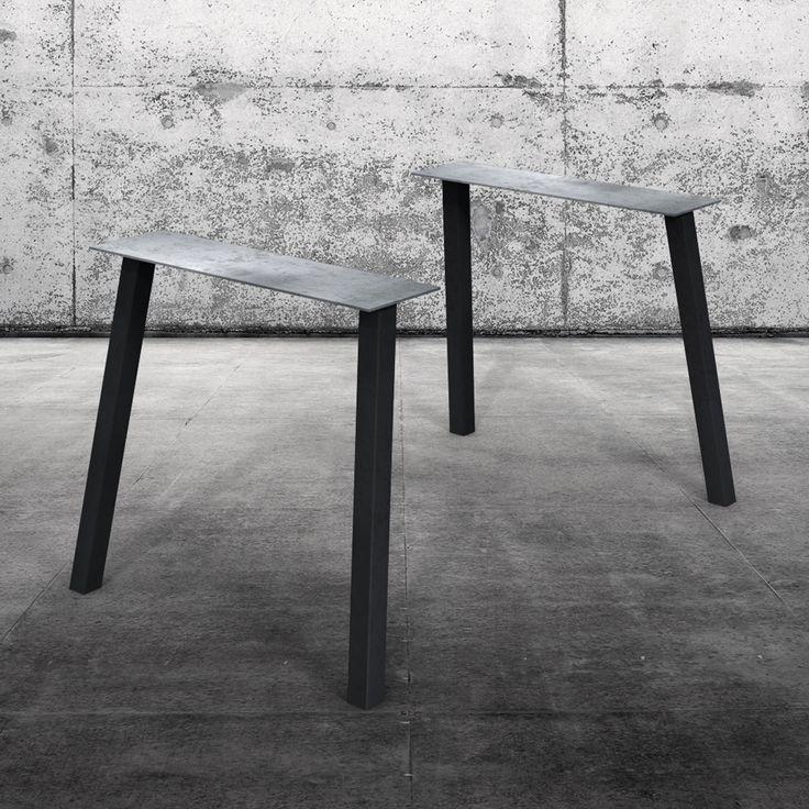 Gestalten Sie Ihren Tisch Selbst Wir Fertigen Aus Dem Stahl Untergestell Outward Und