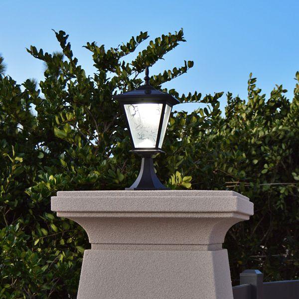 Solar Lights For Driveway Pillars: Galaxy Pillar Or Column Mount Solar Light