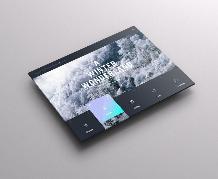 Dashboard Weather GUI