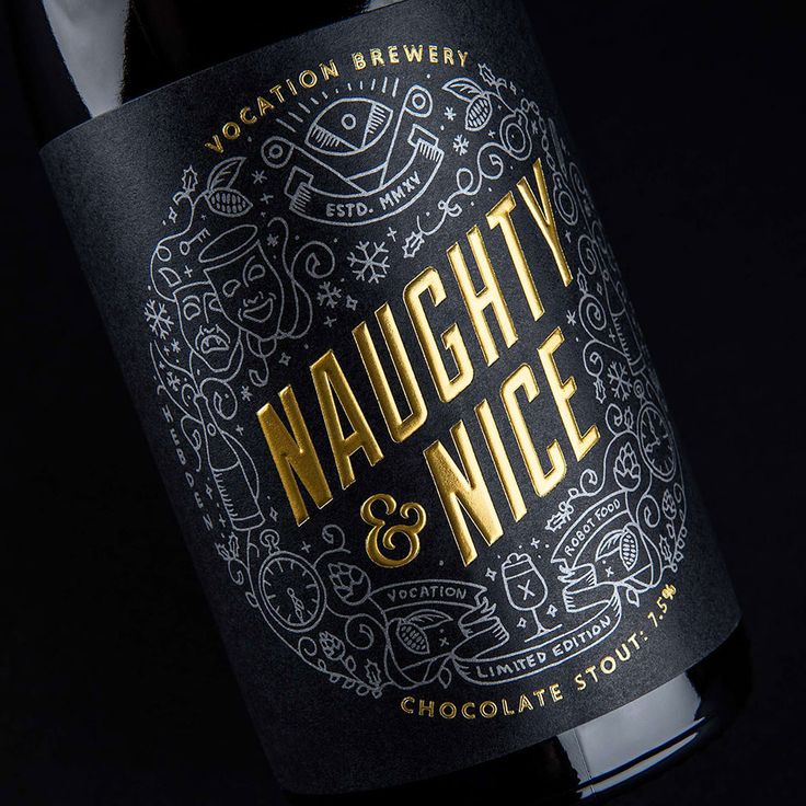 Naughty & Nice Chocolate Stout from Vocation Brewery