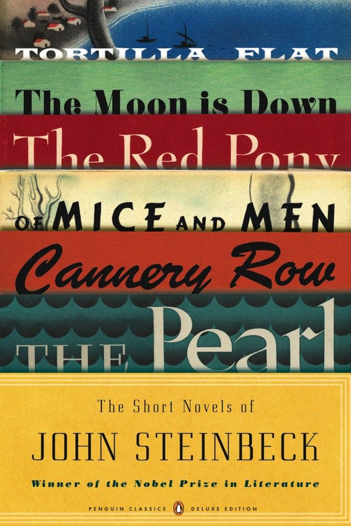 The short novels of John Steinbeck, all in one book. Gorgeous!