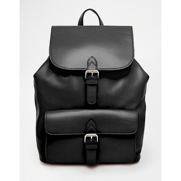 ASOS Structured Pocket Backpack ( 55) ❤ liked on Polyvore featuring bags,  backpacks, e328793320