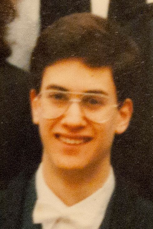 Ed Miliband | 26 Pictures Of Politicians When They Were Younger