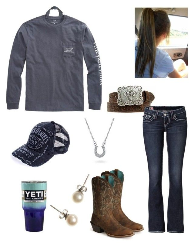 """""""NWSR Parade Today :)"""" by babyinblue on Polyvore featuring Victoria's Secret, True Religion, Vineyard Vines, Ariat, Bling Jewelry and J.Crew"""