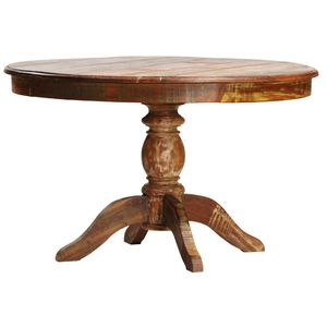 ROUND DINING TABLE NANTUCKET by Dovetail - Lakehouse Home Store