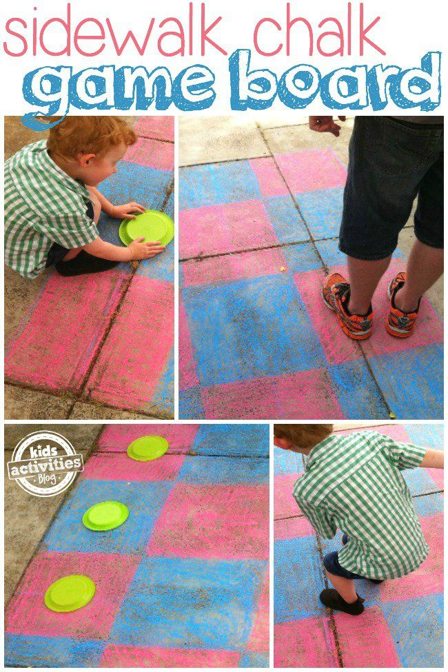 Family games bring loved ones together for laughter and fun.  This chalk game board is great for playing outside.  Your kids will have so much fun with this sidewalk chalk game board! Family Games With The Sidewalk Chalk Game Board Our family loves board games. They're wonderful for bringing everyone together, having fun, learning and laughing. …