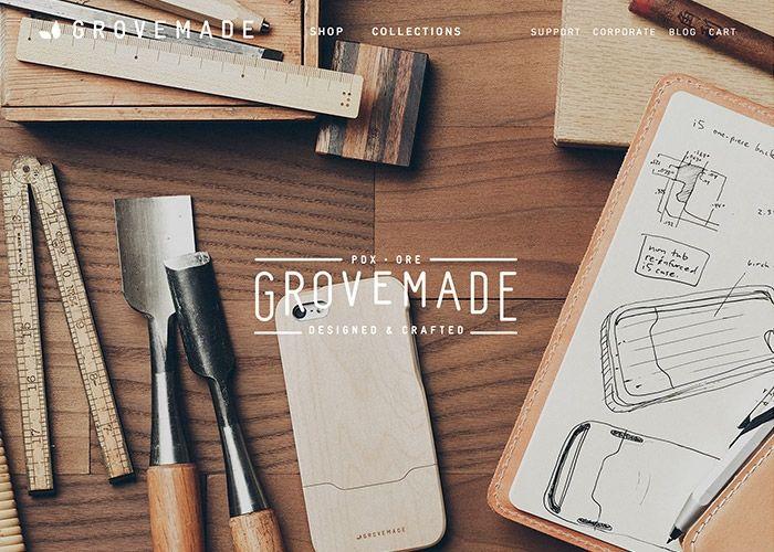 Grovemade   CSS Website