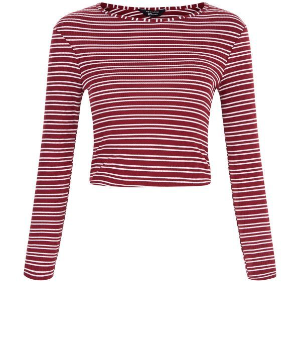 Work subtle retro vibes into this season's wardrobe with this Double Stripe Ribbed number. Pair with a mini skirt and ankle boots to complete the look. £8.99 #newlook #915