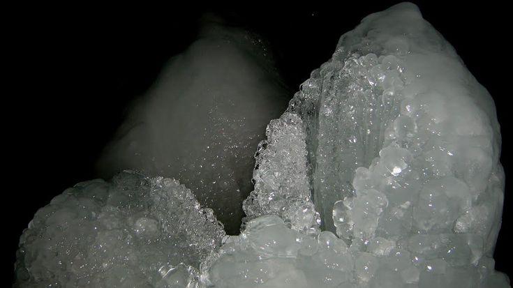 Focul viu glacier, Bihor County, Romania