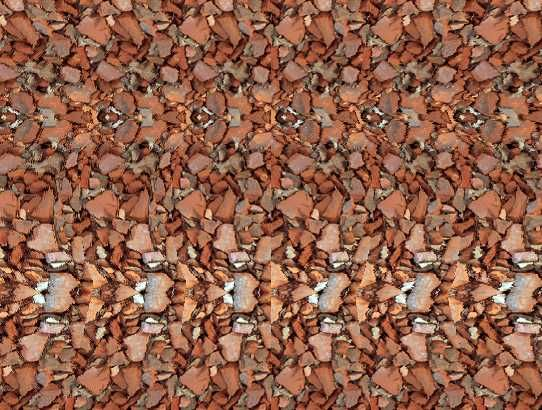 """Magic Eye"" Stereogram with hidden image - this one is a VERY good one!"