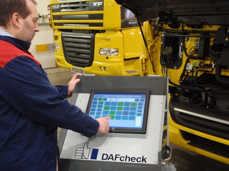 DAFCheck trucks technican of the year