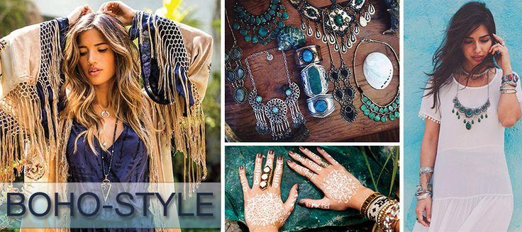 Одежда и украшения в стиде бохо, бохо-шик, богемный стиль  Boho style clothes and jewelry