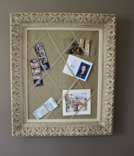Repurposed Picture Frames and More Ideas!