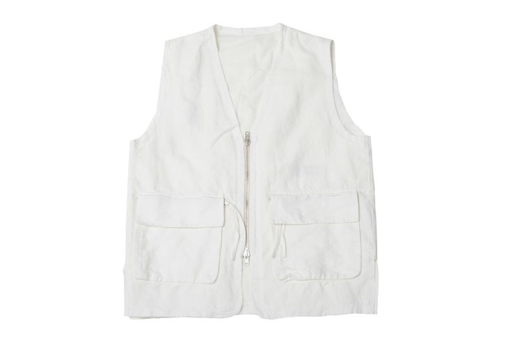 L'HOMME ROUGE - COLLECTOR VEST - OFF WHITE