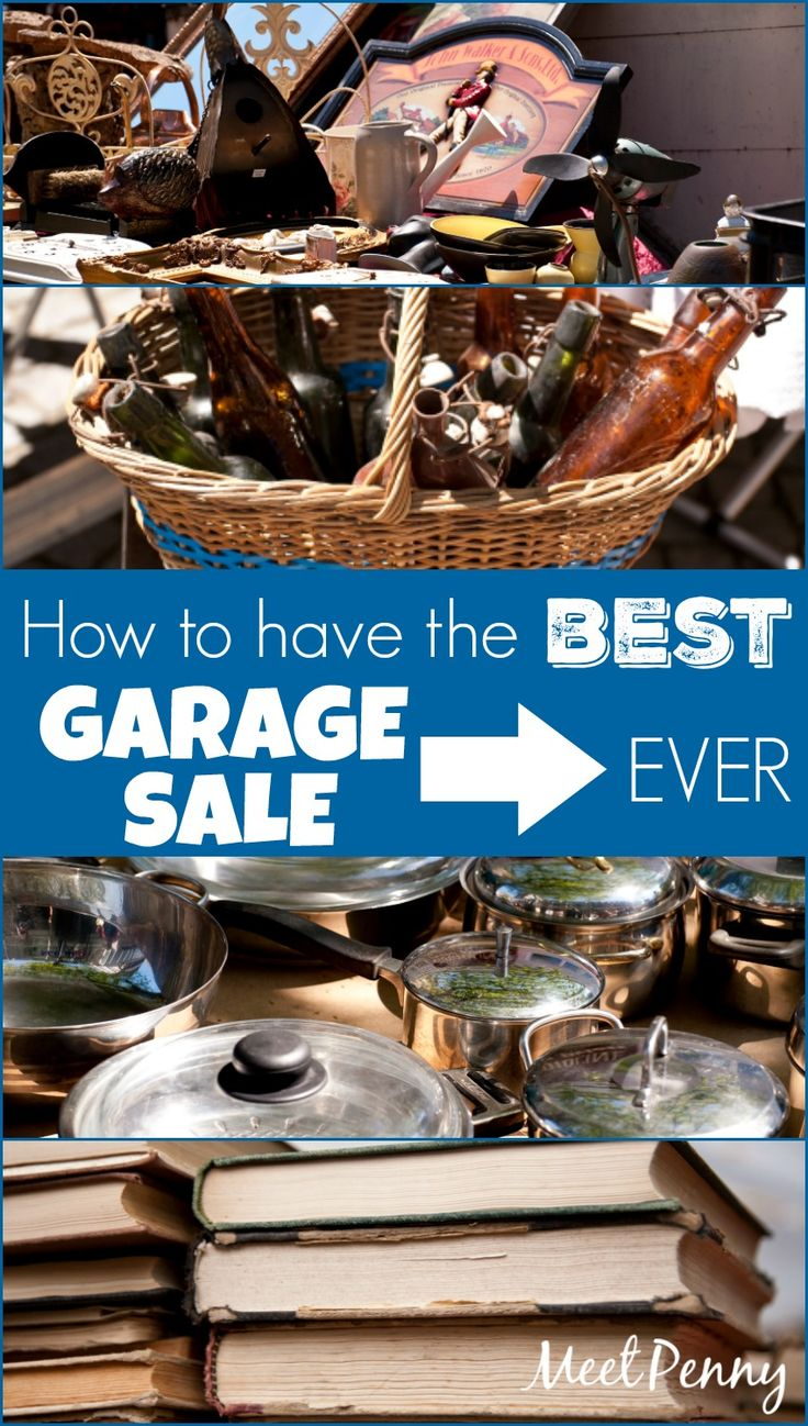 After hosting dozens of yard sales, she shares her very best garage sale tips. Learn from the master and plan your best garage sale ever!