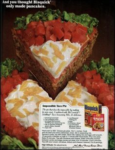 Impossible taco pie recipe-1982