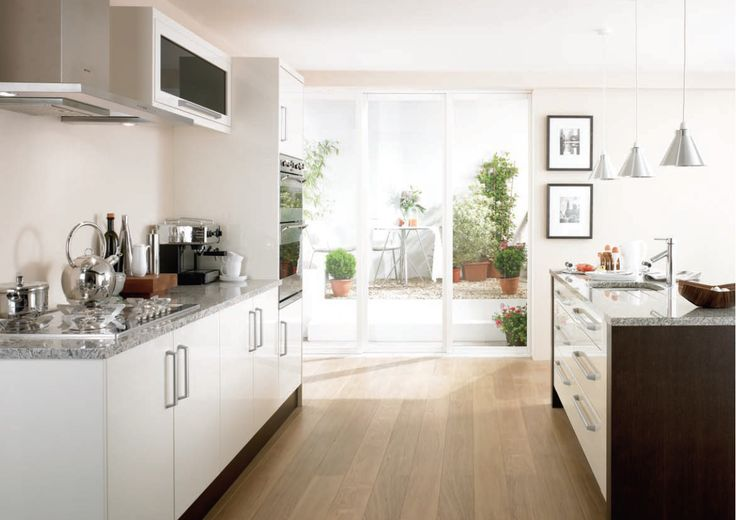 47 best Wood Kitchens images on Pinterest | Kitchen gallery, Oak ...