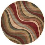 Somerset Multicolor 5 ft. 6 in. Round Area Rug