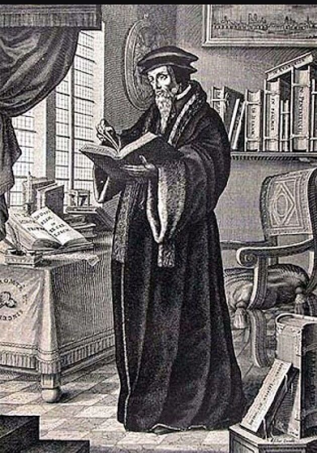 Juan Calvino murió el 27 de mayo de 1564.