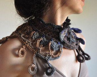 Unendlich Schal kreisförmige Schal Loop Schal von EveldasNeverland