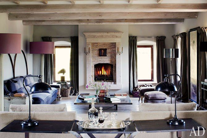 Benedikt Bolza Transforms a Rustic Farmhouse in Umbria, Italy : Architectural Digest