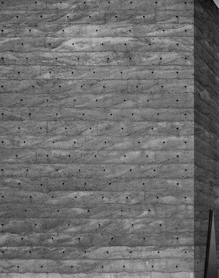 Peter Zumthor. Bruder-Klaus-Kapelle (Brother Klaus Field Chapel), Wachendorf, Eifel, Germany. Photo by Hélène Binet.