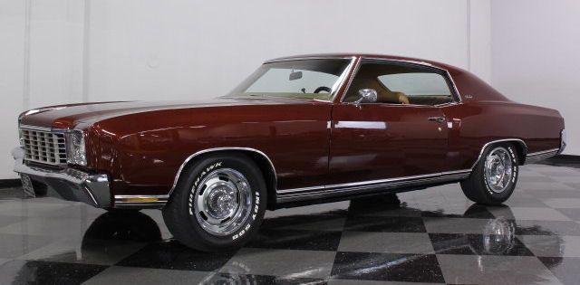 68 68 Midnight Bronze Repainted Chevrolet Monte Carlo Monte Carlo Chevrolet