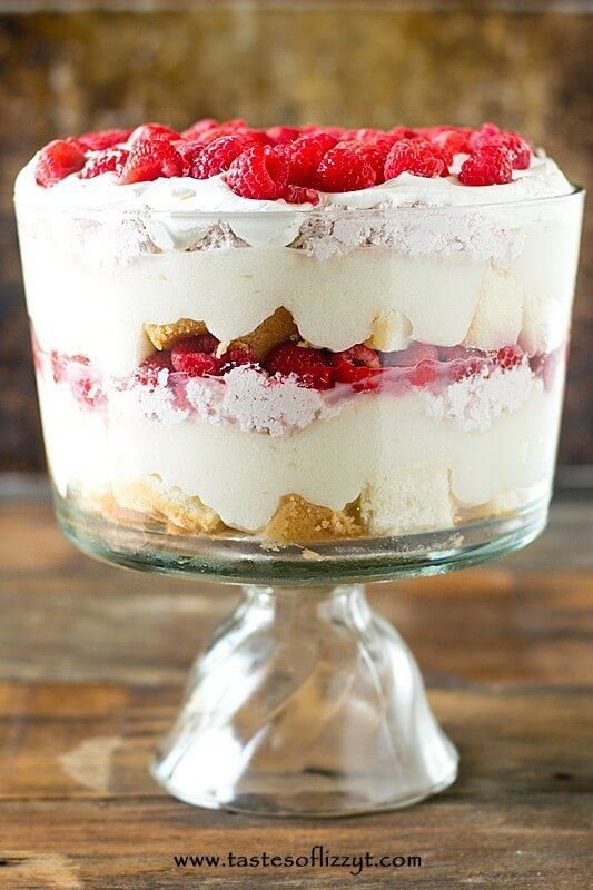 ... Raspberry Trifle on Pinterest | Trifles, Angel food cake trifle and