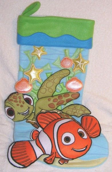 Disney Finding Nemo - Nemo and Squirt Christmas Stocking