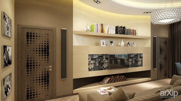 Гостиная  квартиры 75 м2  Москва: интерьер, квартира, дом, минимализм, 20 - 30 м2, студия #interiordesign #apartment #house #minimalism #20_30m2 #studio #atelier arXip.com