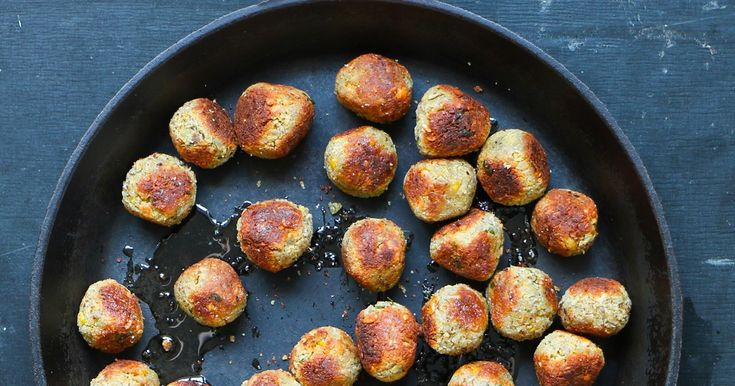 Vegobollar med dragon, recept hittar du på Foodfolder.se