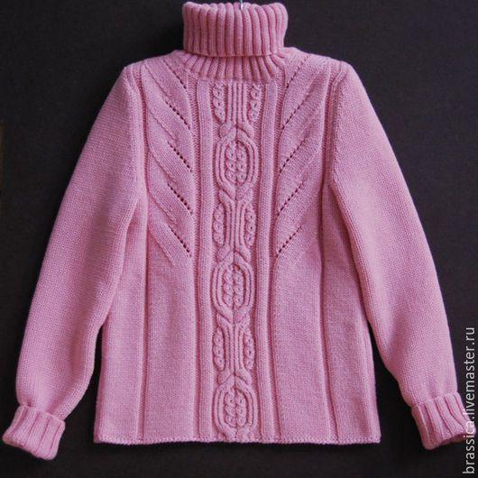 вязание для детей, вязаная одежда для детей, свитер, свитер с косами, свитер для девочки, свитер вязаный, свитер детский, свитер шерстяной, свитер теплый, свитер из мериноса