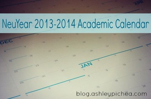 NeuYear Academic Calendar [Review and Giveaway]