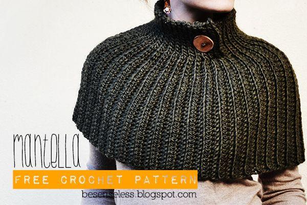 Airali handmade. Where is the Wonderland? Crochet, knit and amigurumi.: Mantella - Crochet Cape - free pattern