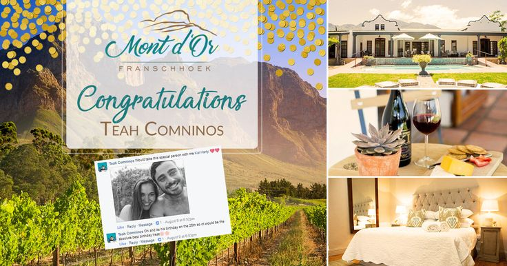 """We would like to announce our winner for the """"Win A Weekend"""" competition that we have been running on Facebook this past month.   We would like to thank everyone for entering, It has been an over whelming response.   The lucky winner is Teah Comninos! Congratulations!!! You have won two nights accommodation for you and a loved one to redeem anytime within the next year. On arrival, you will be met with an ice cold bottle of Methód Cap Classique. We understand that for some people switching…"""