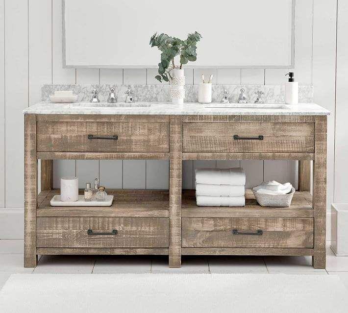 Paulsen Reclaimed Wood Double Sink Vanity Ndash 63 Quot 8203