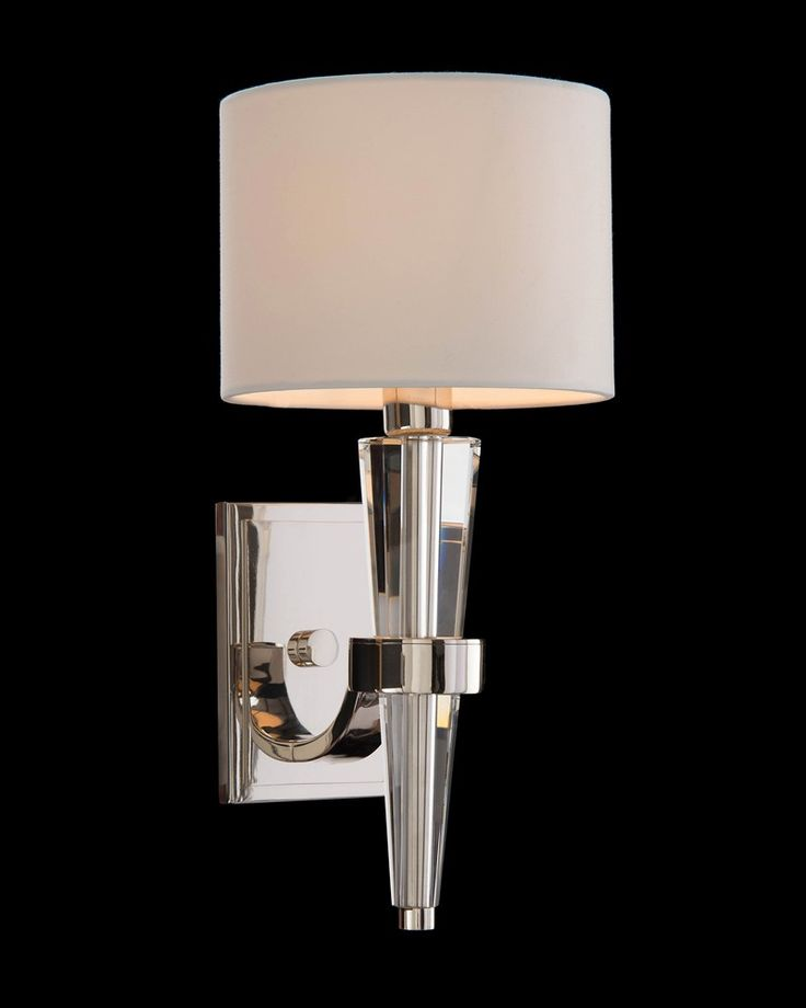 crystal cone sconce wall sconces fixed lighting lighting our products