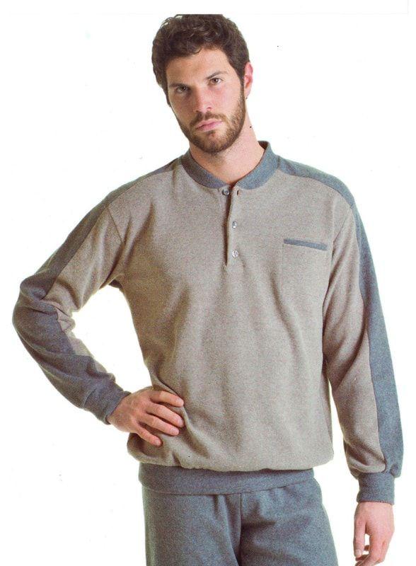 Pijamas polares para hombre de la marca italiana Alpina. Tejidos que no pesan, son amorosos y abrigan. Ideales como homewear. + modelos en varelaintimo.com