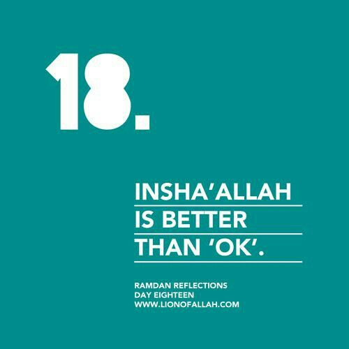 Ramadan Reflections: Day Eighteen.