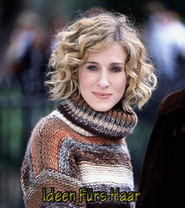 Pin On Hair Dos Pin On Hair Dos In 2020 Curly Hair Styles Carrie Bradshaw Hair Short Curly Hair